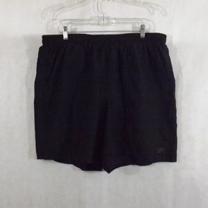 Mens SPEEDO Swim Trunks - Black - Sz 2XL